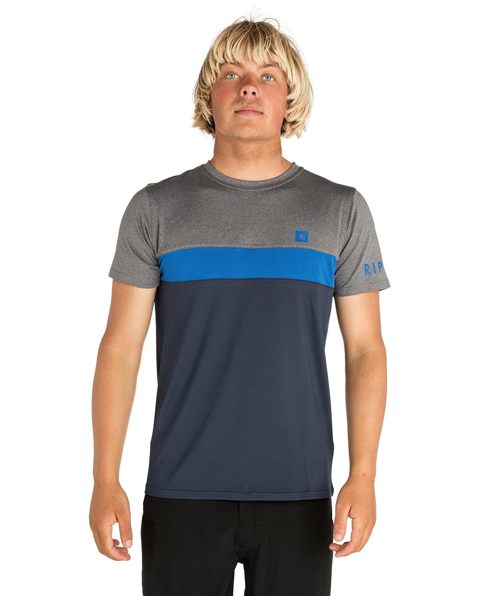 Underline Panel Short Sleeve - UV Tee