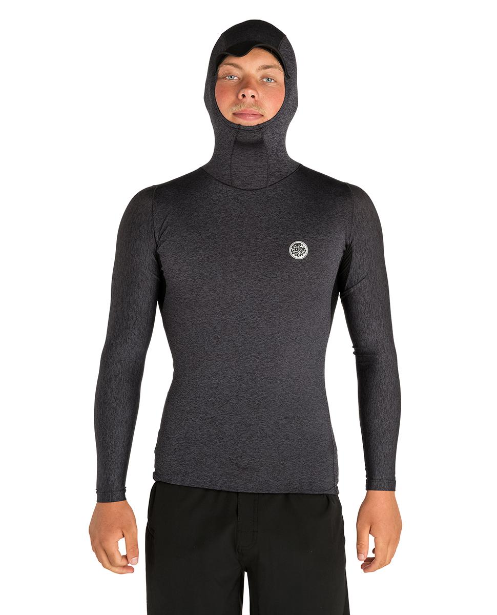 Tech Bomb Long Sleeve - Hood Top