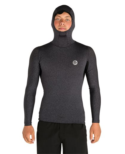 Tech Bomb Long Sleeve - Hood Top