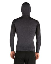 Tech Bomb Long Sleeve  Hood Top