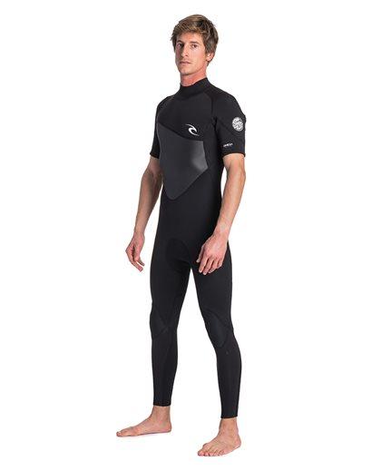 Omega 3/2 Back Zip Short Sleeve - Wetsuit