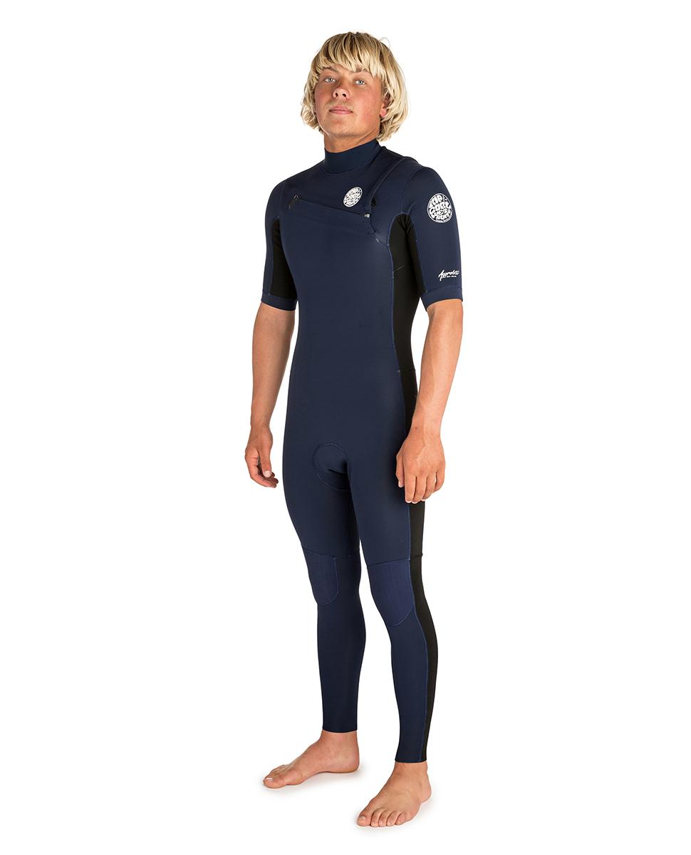Aggrolite 2/2 Chest Zip Short Sleeve - Wetsuit