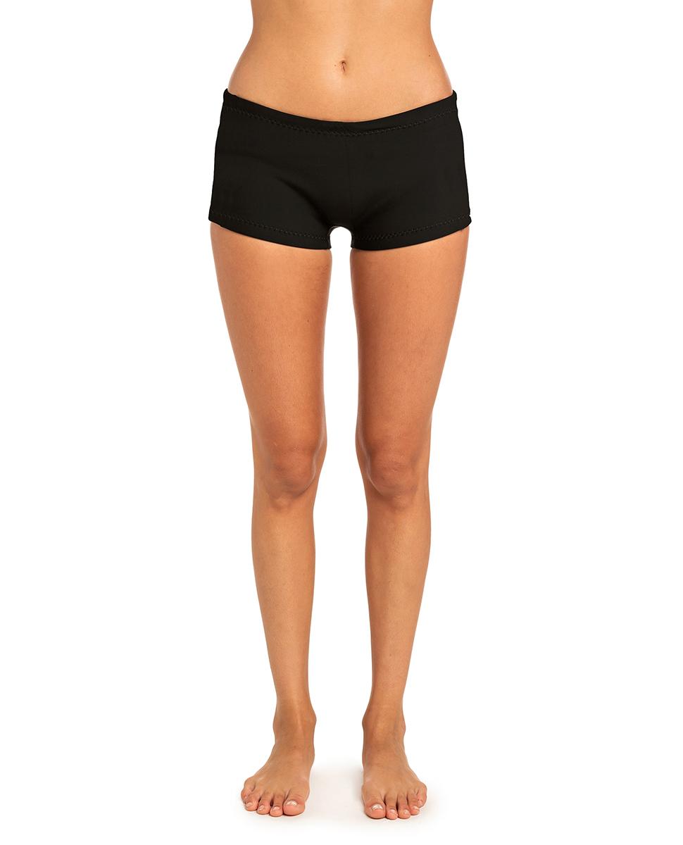 Rip Curl G-Bomb Ladies Boyleg 1mm Neoprene Shorts BLACK WSH4AW