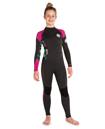 Junior Girl Dawn Patrol 3/2 Back Zip - Wetsuit