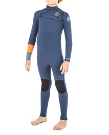 Junior Aggrolite 4/3 Chest Zip - Wetsuit
