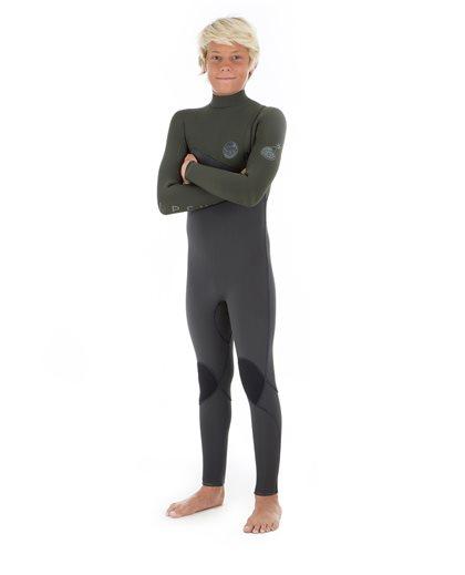 Junior Flashbomb 4/3 Zip Free - Wetsuit