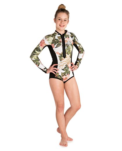 Junior Girl Gbomb Sub Long Sleeve - Wetsuit