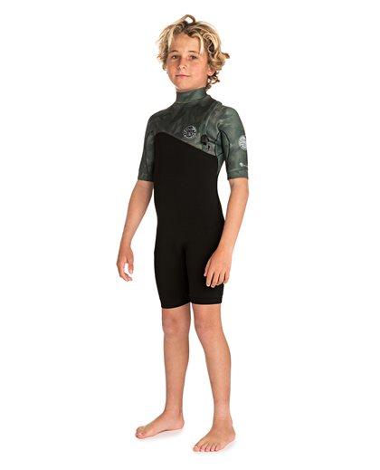 Junior E Bomb 2/2 Zip Free - Wetsuit