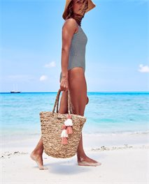 Bolso de playa Shorelines Straw