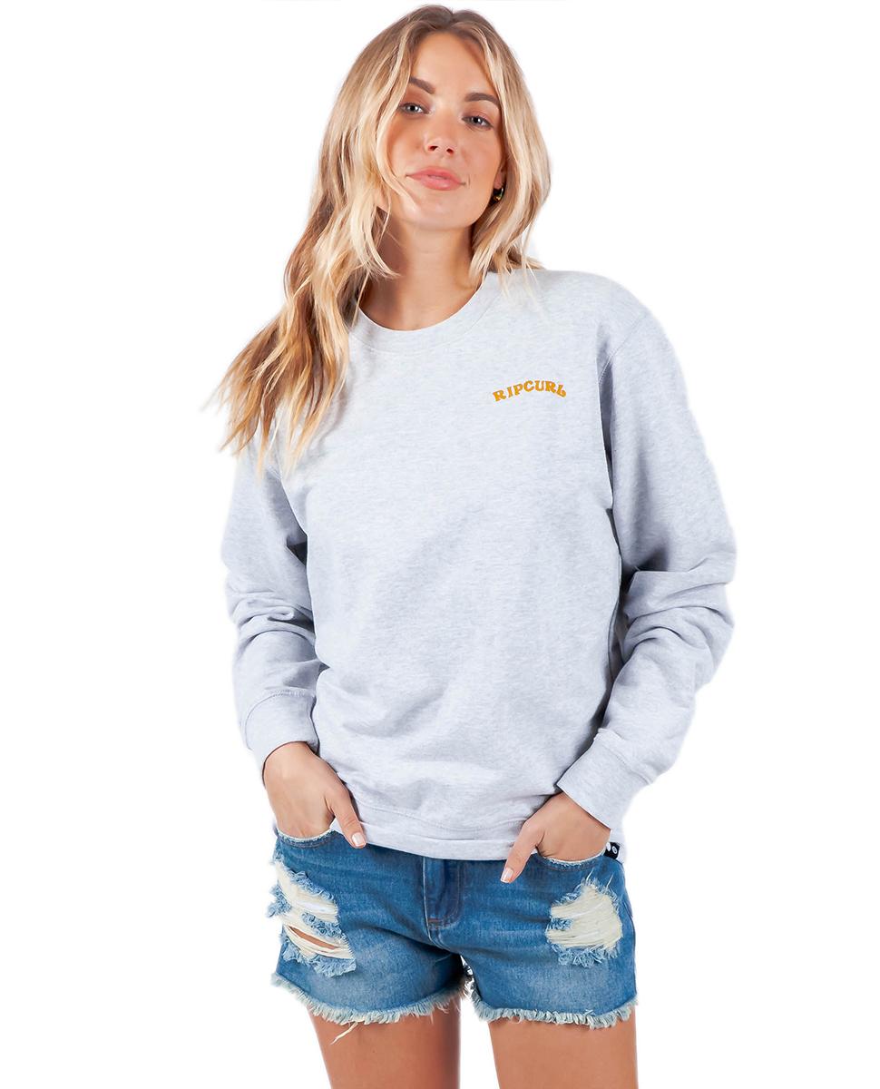 65ac835d73 Day Breaker Crew - Fleece | Womens Beach Fleece & Fleecewear | Rip Curl  Europe Online Store