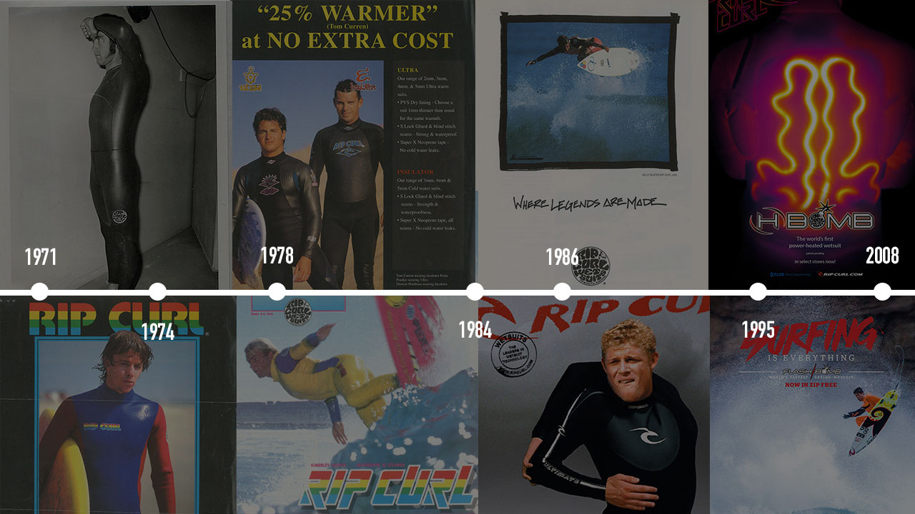 Celebrating 50 Years of Wetsuit Innovation at Rip Curl