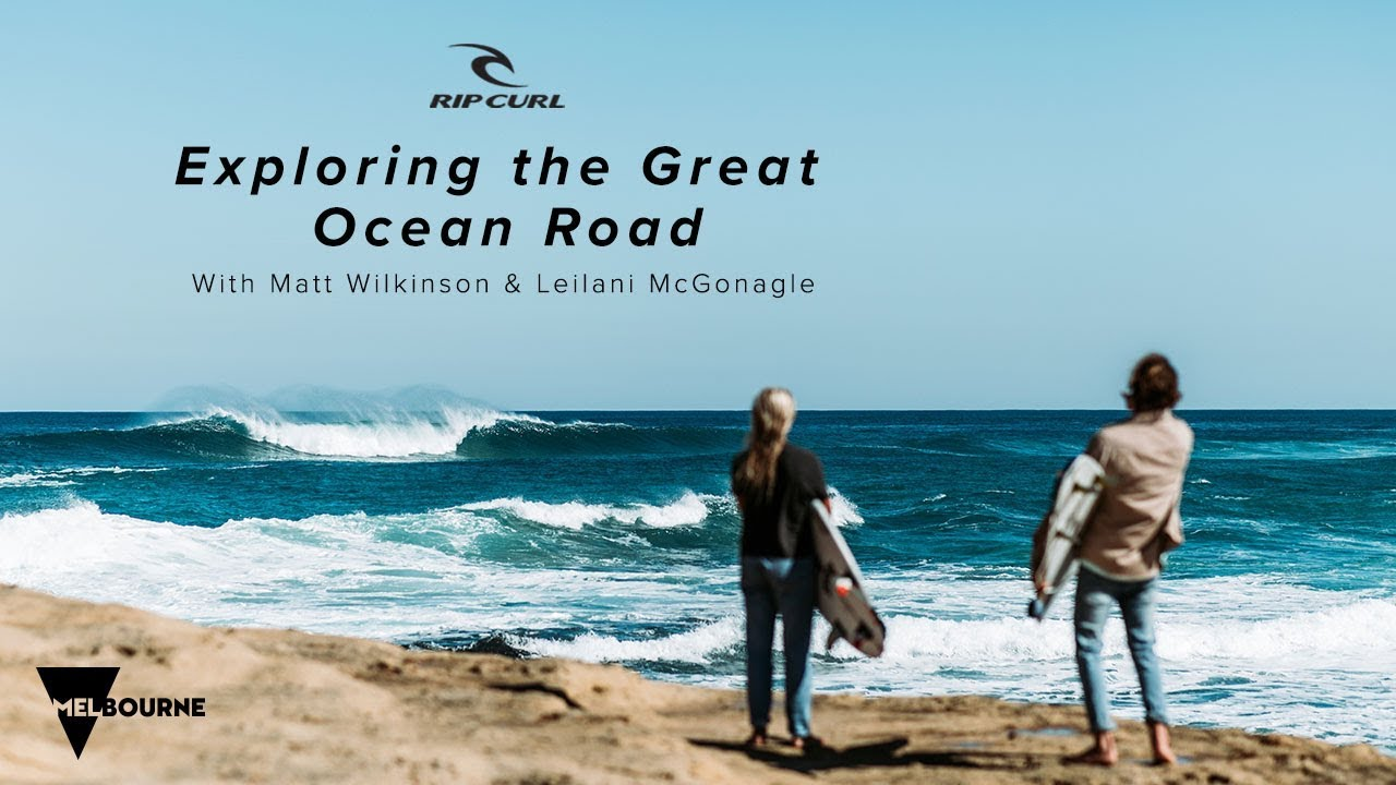 Matt Wilkinson and Leilani McGonagle Explore the Great Ocean Road