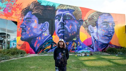Seven World Titles, Three World Champions, One Wall: The MadSteez Mural