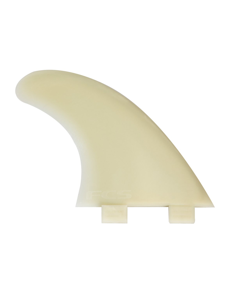 FCS M5 Natural Glass Flex Thruster Medium - Fins