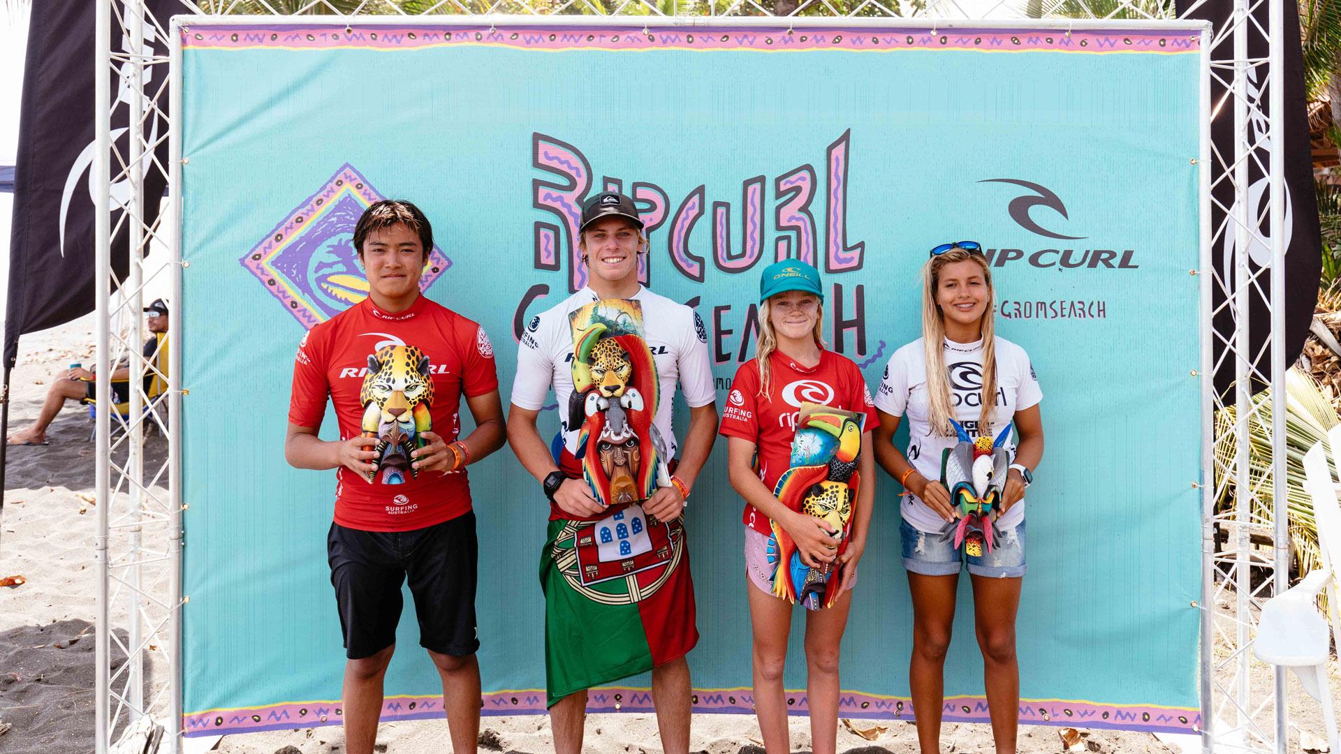 Day 3: Rip Curl GromSearch International Final Playa Hermosa, Costa Rica