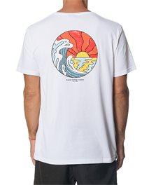 T-shirt Hazed & Tubed Manches courtes