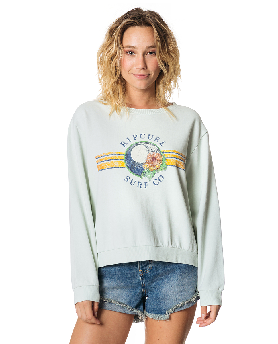 81b6781675 Wave Lines Crew | Womens Beach Fleece & Fleecewear | Rip Curl Europe Online  Store