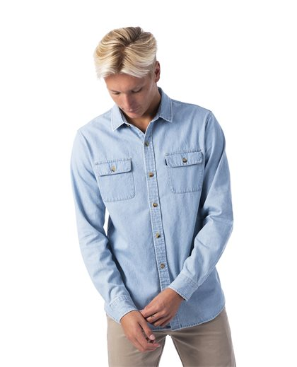 Searches Denim Long Sleeve Shirt
