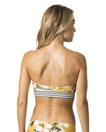 Top de bikini estilo bandeau Island Time