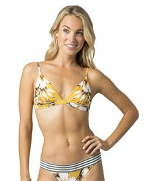 Top de bikini de triángulo Island Time Fixed