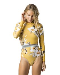 Island Time Long Sleeve Surf Suit