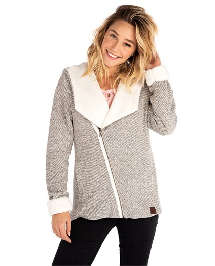 Laani Lined Hooded Fleece