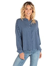 Sea View Long Sleeve Shirt