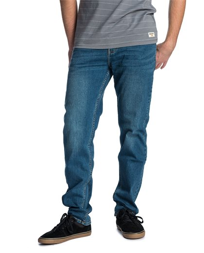 Slim Tidal Blue - Jeans