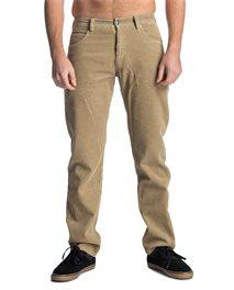 Pantaloni Cord Lock Straight