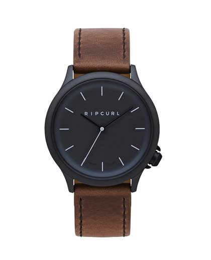 Current Midnight Leather Watch