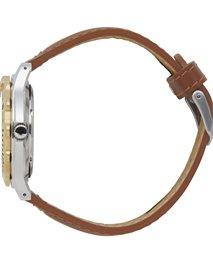 Large Heat Bezel Leather Watch