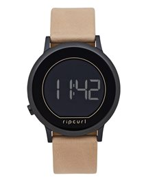 Daybreak Digital Midnight Leather Watch