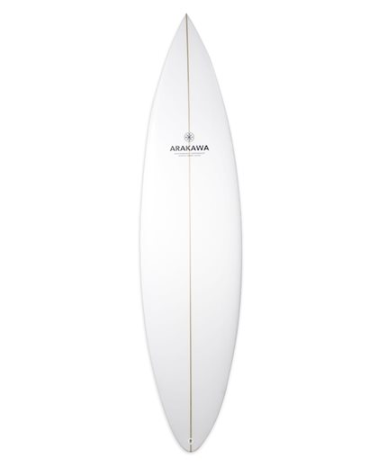 Arakawa Round Pin Tint 6'4 - Surfboard