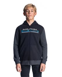 Hey Mama Boy Hooded Zip Fleece