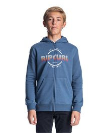 Sweat Hey Mama Boy Hooded Zip