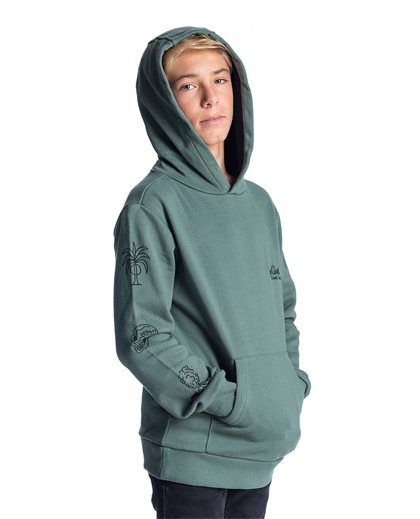 Paradise Hooded Fleece
