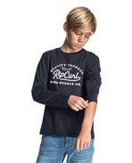 T-shirt a maniche lunghe da ragazzo Typo