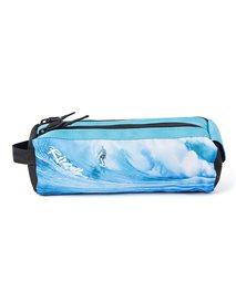 Pencil Case 2 compartments Glow Wave