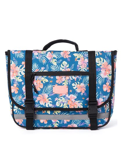 Small Satchel Tucan Flora