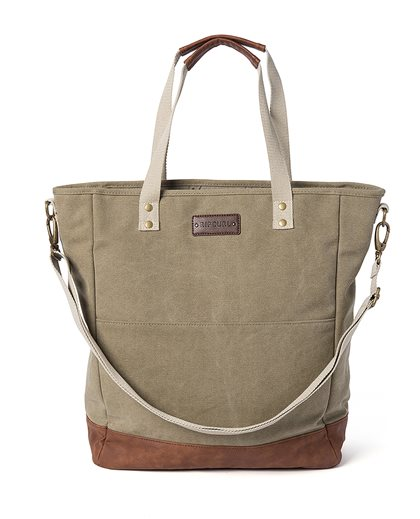 Canvas Sea Grass Tote Bag