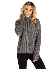 High Low Crew Sweater
