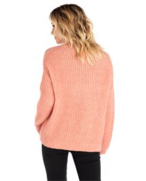Sweat-shirt col rond High Low
