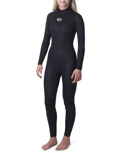 Women Omega 3/2 Back Zip Wetsuit
