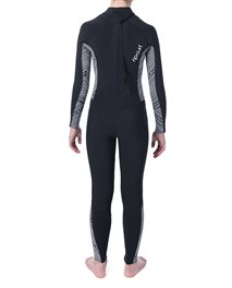 Junior Girl Dawn Patrol 4/3 Back Zip Wetsuit