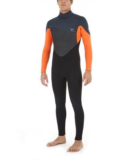 Omega 4/3 Back Zip Wetsuit