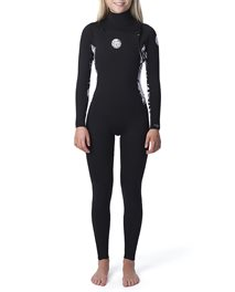 Traje de neopreno Dawn Patrol 4/3 Chest Zip para mujer