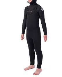 Junior Dawn Patrol 5/4 Hood Chest Zip Wetsuit