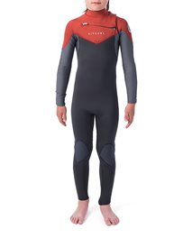 Junior Dawn Patrol 4/3 Chest Zip Wetsuit