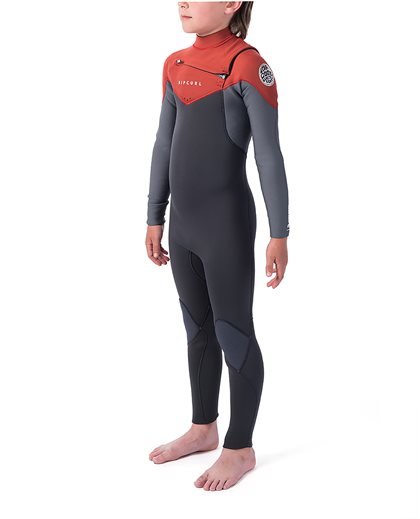 Junior Dawn Patrol 5/3 Chest Zip Wetsuit
