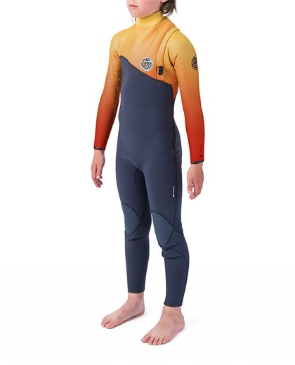 Junior Flashbomb 5/3 Zip Free Wetsuit